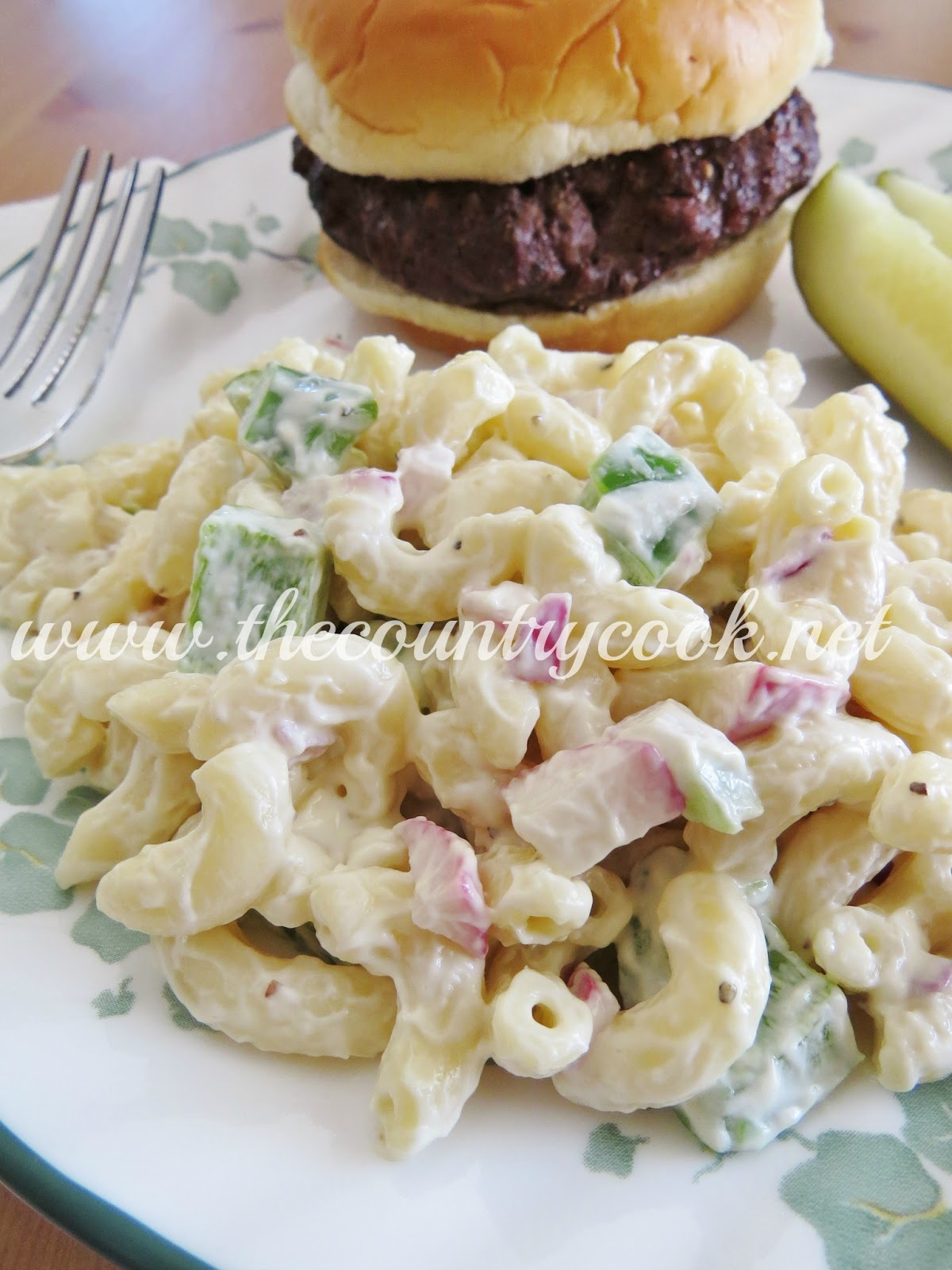 Mom's Macaroni Salad - The Country Cook