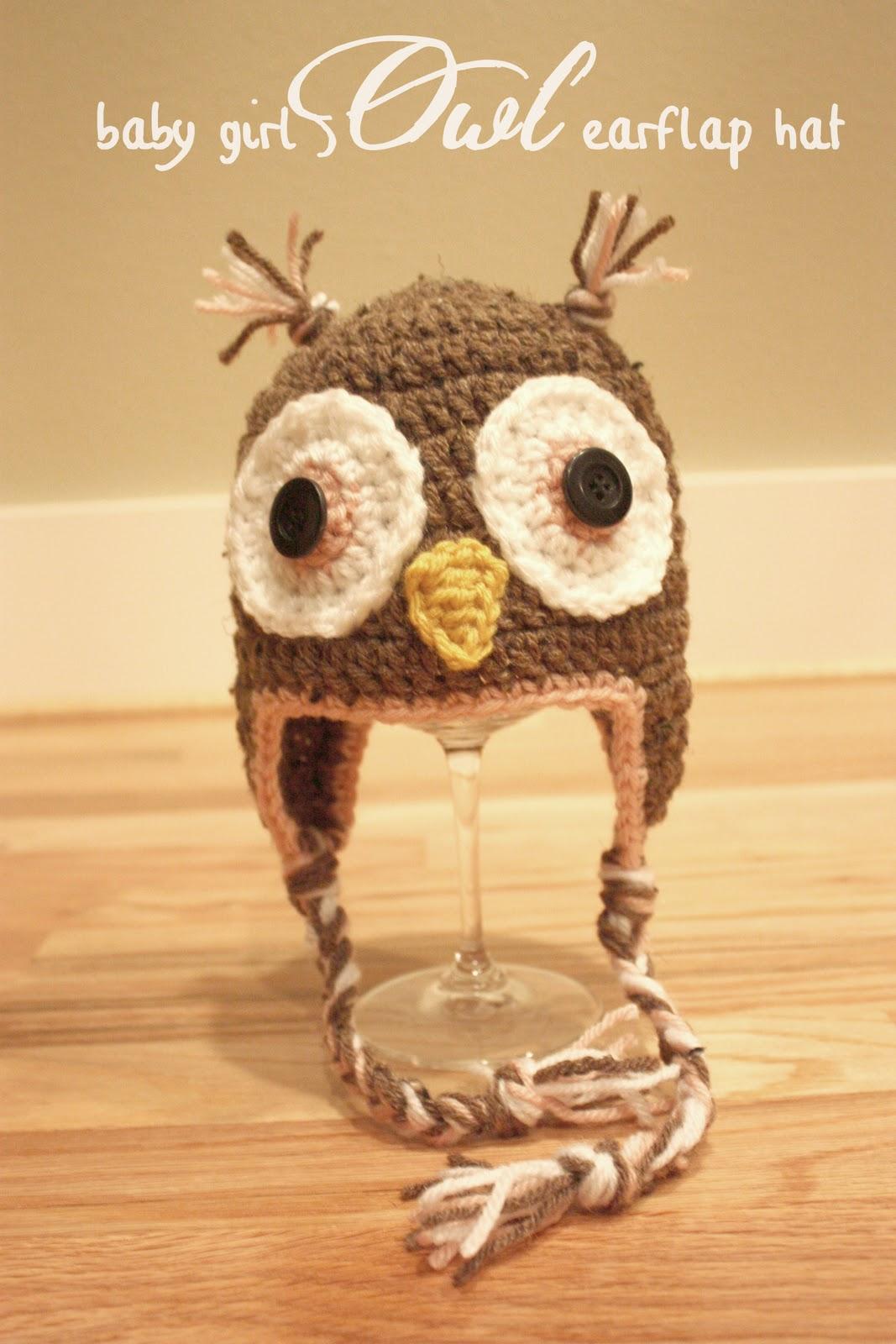 Crochet Owl Hats - Repeat Crafter Me 81e447e4eb11