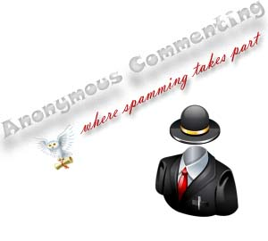 disable anonymous comments in blogger