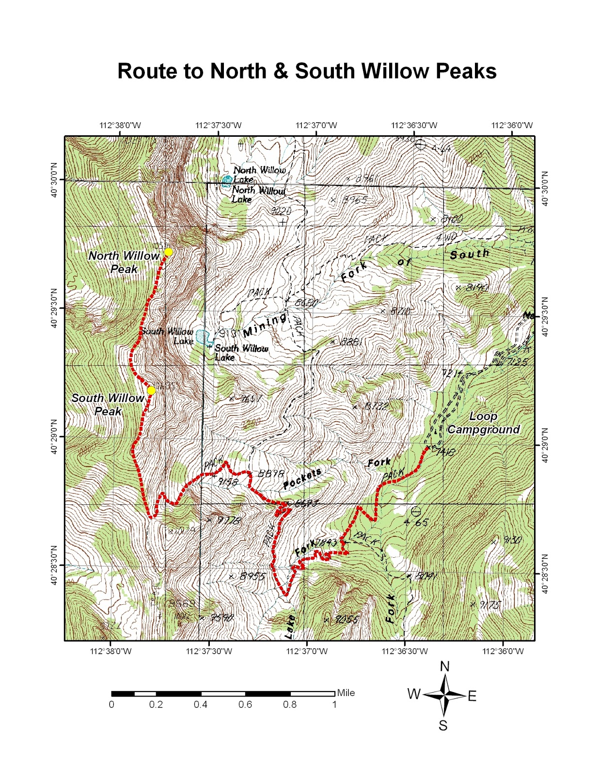 to reach the trailhead for north and south willow peaks take the tooele city exit exit 99 off of i 80 onto sr 36 if coming from the east