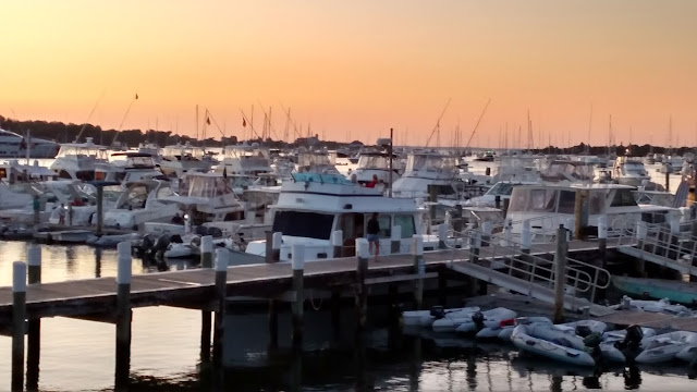 block Island sunset