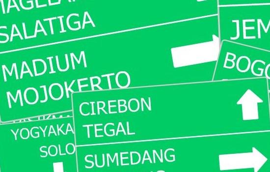 Peta Jalur Mudik 2015 Online Offline Wilayah Jawa dan Sumatera