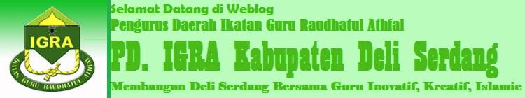IGRA (Ikatan Guru Raudhatul Athfal) Kabupaten Deli Serdang