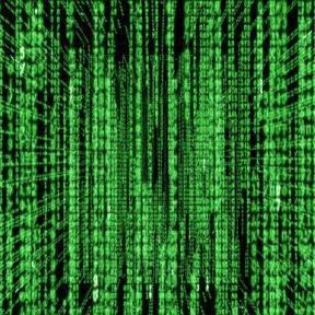 Matrix Falling Effect Using Notepad_FunWidTricks.Com