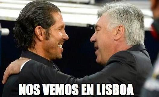 Final Champions: Real Madrid - Atlético. Humor, cachondeo, bromas, chorradas, whatsapp,  chistes, guasa y memes.