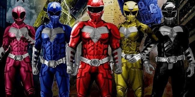 Power Rangers para adultos: mais