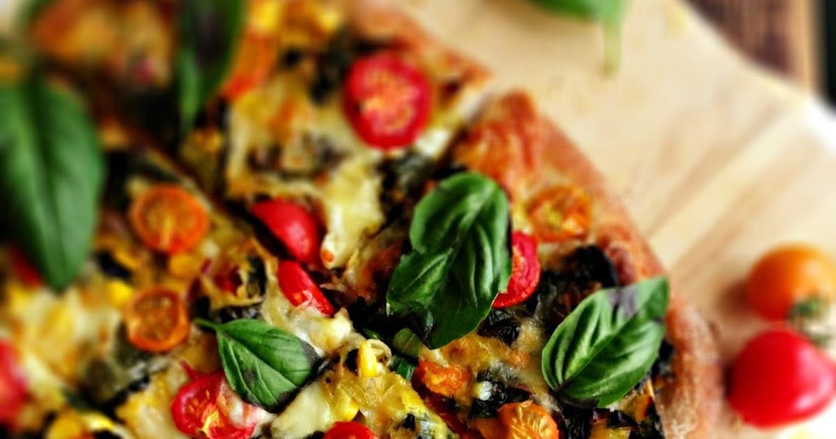 sweetsugarbean: Swiss Chard & Corn Pizza with Cherry ...