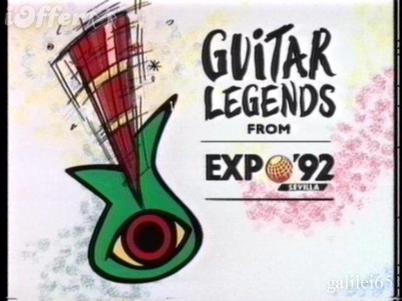 GUITAR LEGENDS FROM EXPO 92 SEVILLA