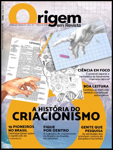Revista com conteúdo criacionista