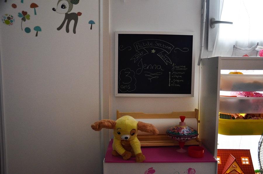 sa chambre de petite fille le blog de yeude. Black Bedroom Furniture Sets. Home Design Ideas