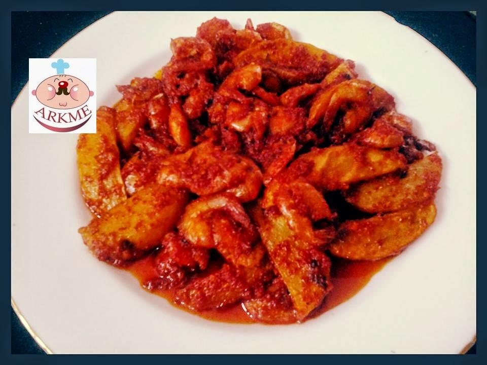 udang kentang balado pedas resep resep makanan sehat