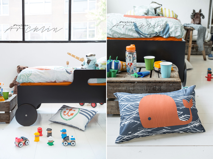 piraten bedding for kids from Moshi Moshi kids bedding  © Paulina Arcklin Photography + Styling