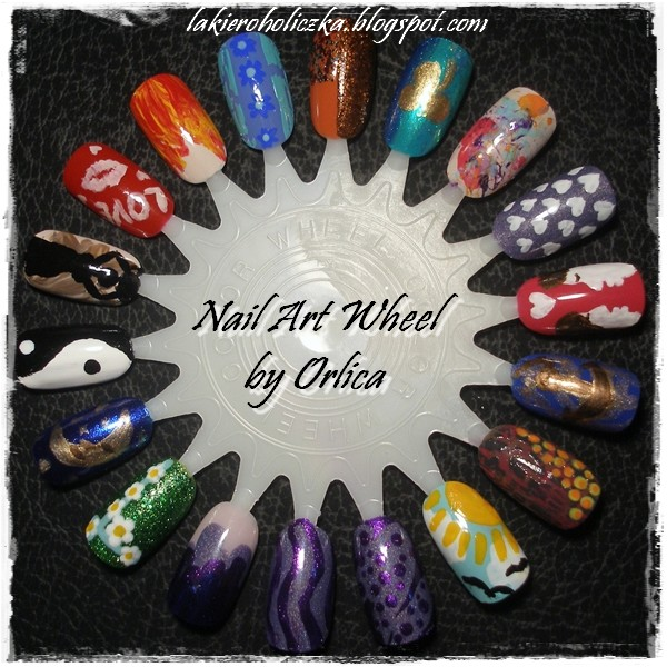 Confessions of a Polishaholic: My fifth Nail Art Wheel
