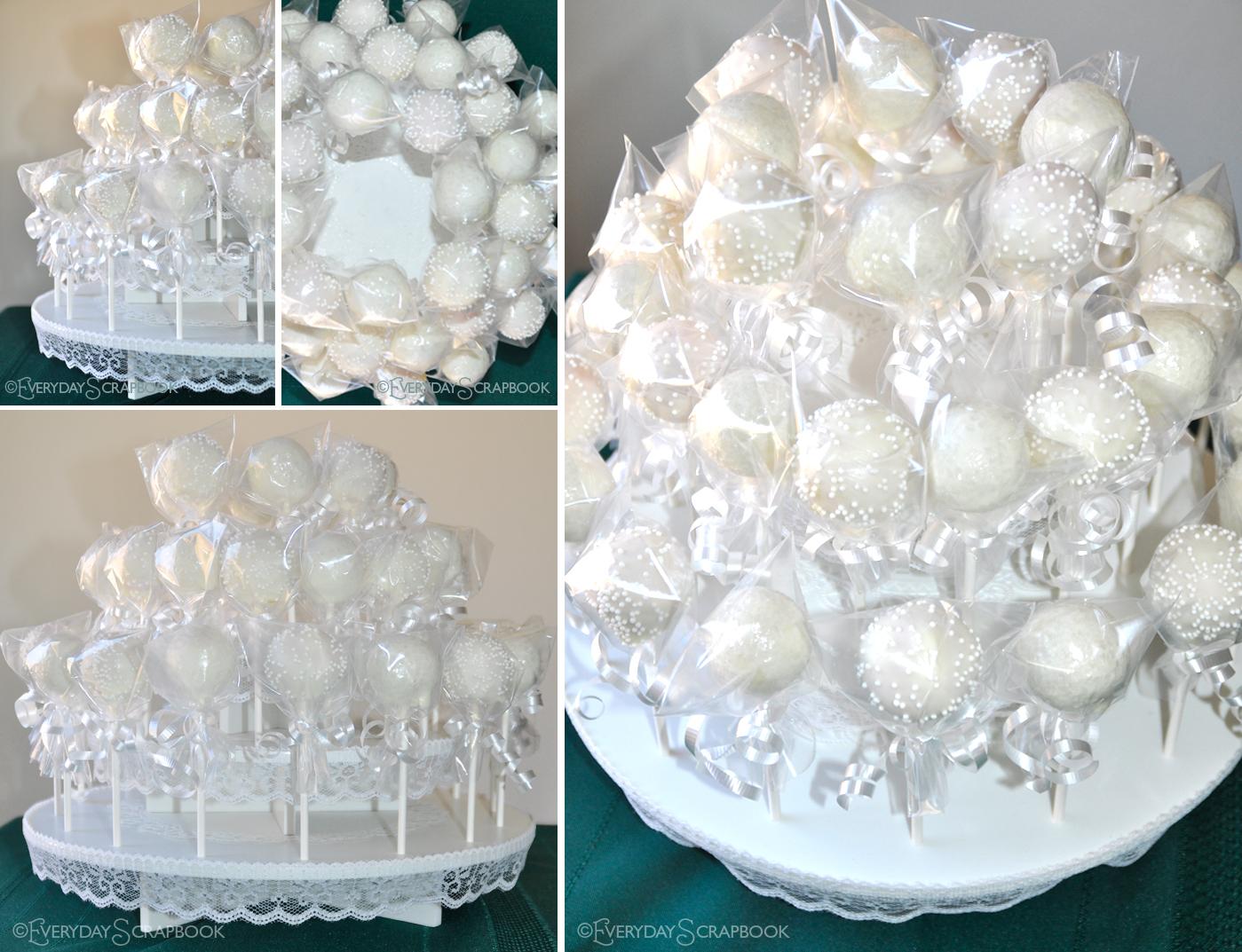 everydayme cakepop wedding cake. Black Bedroom Furniture Sets. Home Design Ideas