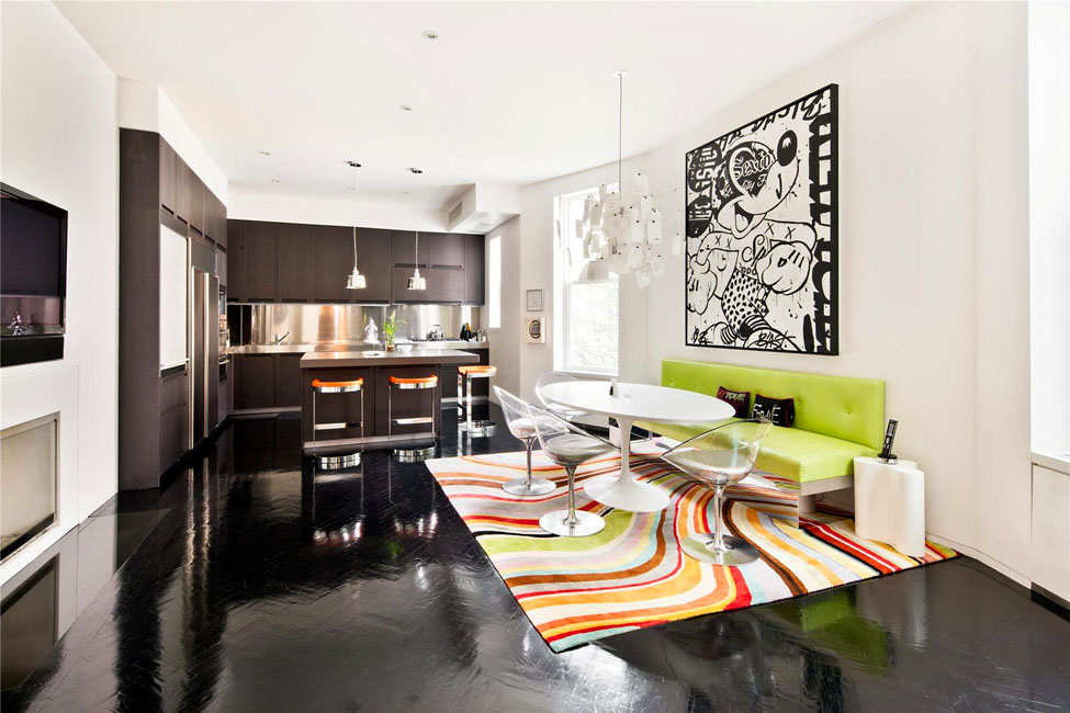 Loveisspeed manhattan triplex interior design by for Manhattan interior decorators