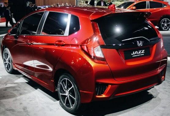 2015 Honda Jazz Rear View