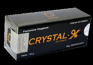 pusaka wanita crystal-x
