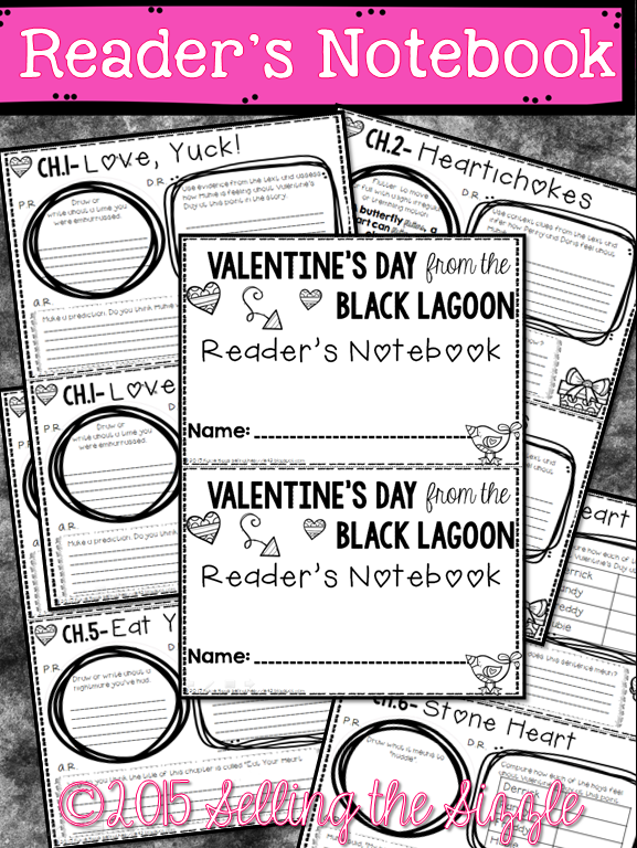 https://www.teacherspayteachers.com/Product/Valentines-Day-From-the-Black-Lagoon-CCSS-Aliged-Book-Study-1699410