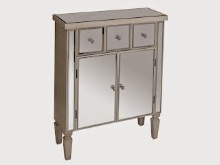 Mueble puertas y cajones con espejos