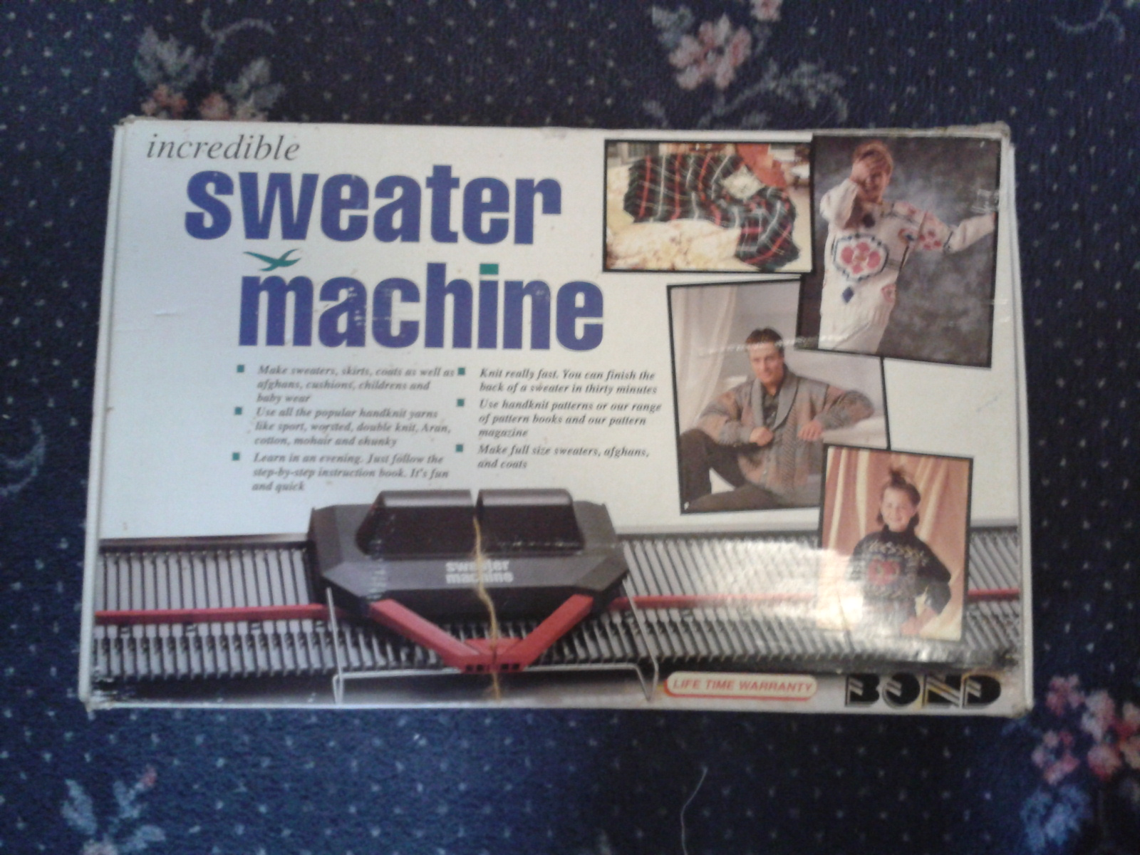 bond sweater machine