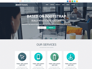 wordpress professional themes : BootFrame Core Theme