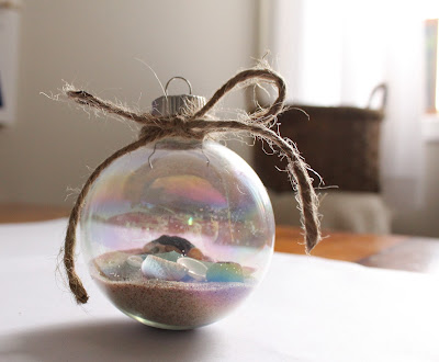 Vacation Memory Ornament - Turtles and Tails blog