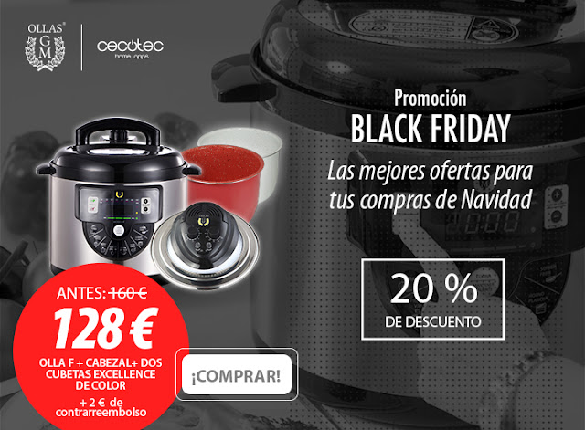 Black Friday Ollas GM, Cocina con Marta