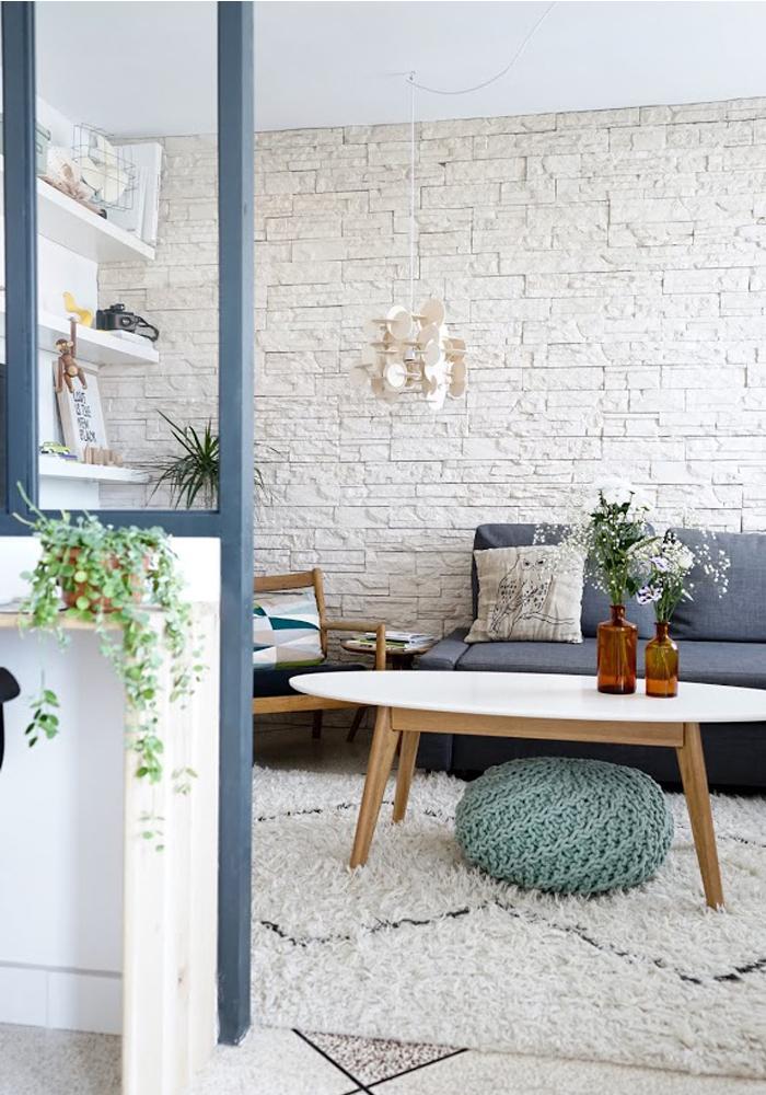 C mo hacer un separador de ambientes con zona de trabajo tr s studio blog de decoraci n for Deco entre