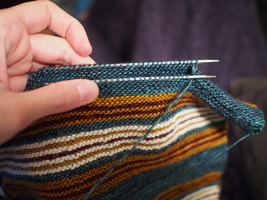 Knitting Grafting Garter Stitch : Weave over your knitting to great effect princess dayana
