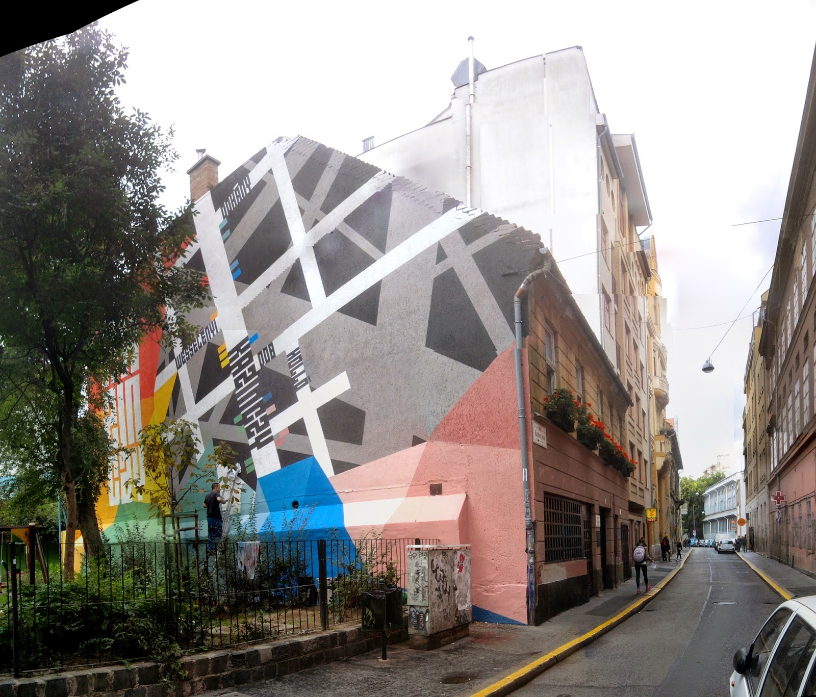 Kazinczy utca, Wichmann Tamás, graffiti, Wichmann Kocsma, VII. kerület, térkép, Király utca, Wichmann kocsmája, urban art