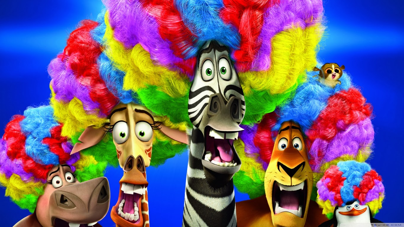 madagascar afro circus coloring pages - photo#34