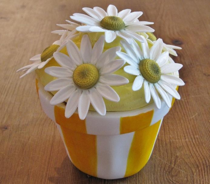 Cakes Etc By Dana Flower Pot Cupcake Tutorial