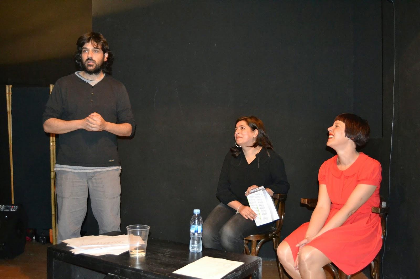 Martín Lucía, Carmen Ramos, presentación Tickets, un gato en Bicicleta