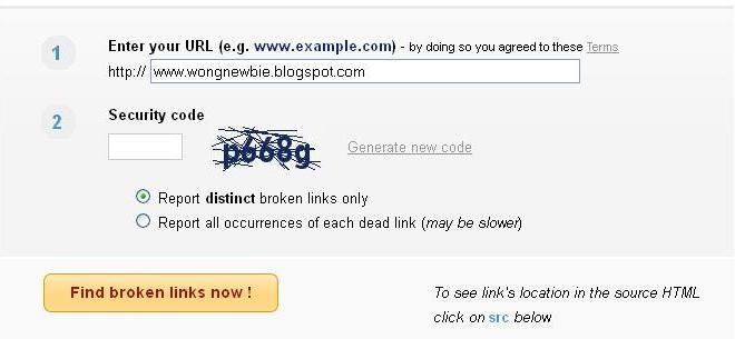 how to find a link on a website