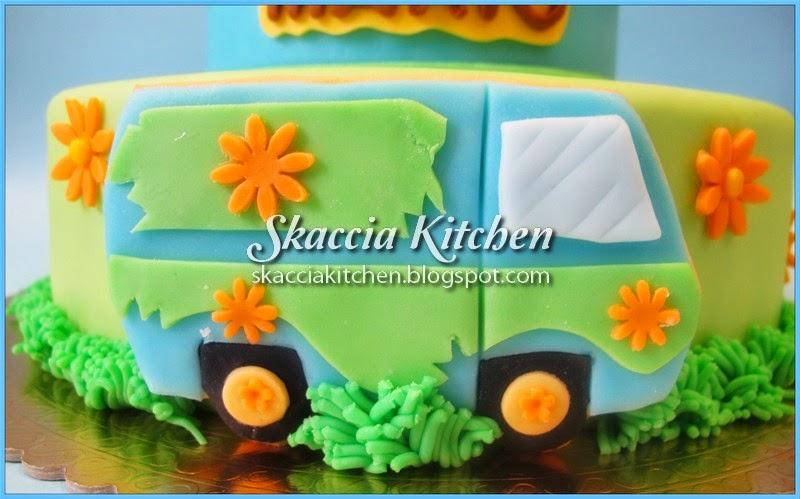 Skaccia kitchen scooby doo cake