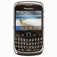 BlackBerry Smartfren 9330 – 512 MB - Hitam-Metalik