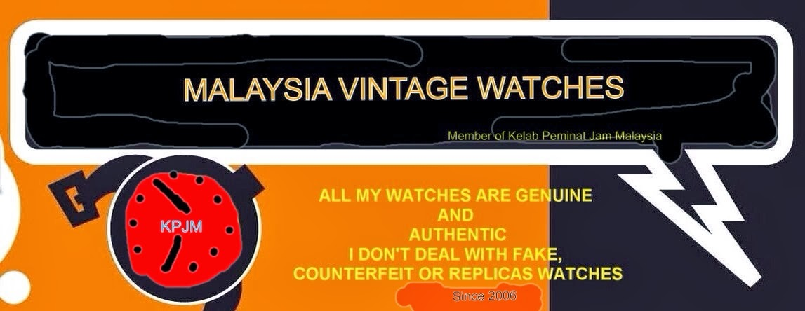 MALAYSIA VINTAGE WATCH COLLECTION