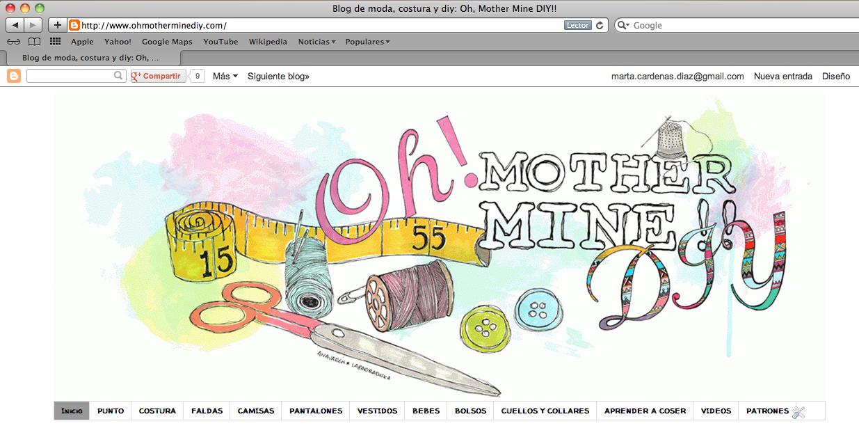 Cómo descargar los patrones del blog | | Oh, Mother Mine DIY!!