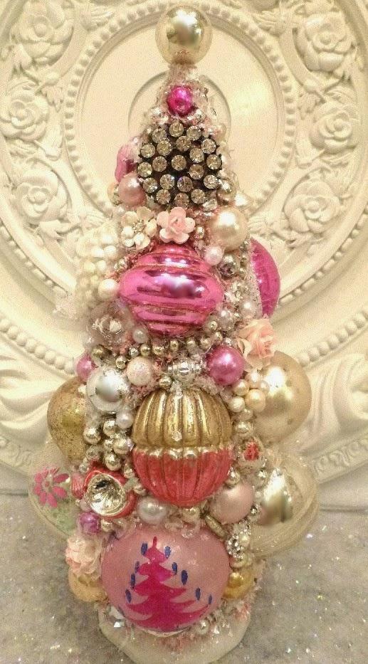 *Vintage Pink Tree*