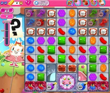 Candy Crush Saga 736