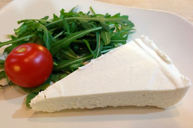 Vegan Brie from the Artisan Vegan Cheese Book