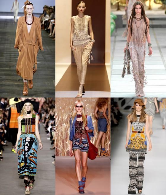 Micro Fashion Blog Hot Trend Apache Print