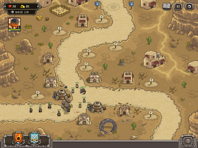 Kingdom Rrush Frontiers 戰鬥畫面