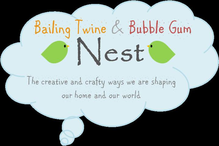 Bailing Twine & Bubble Gum Nest