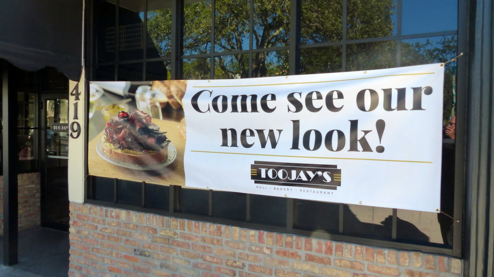 "TooJay's: ""Come see our new look!"" in Lake Worth. Click on image:"