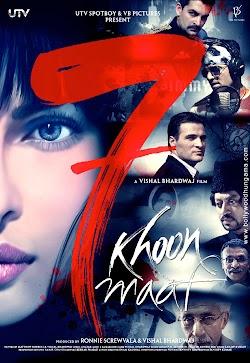 Bảy Vụ Án Mạng Được Khoan Hồng - 7 Khoon Maaf 2011 (2011) Poster