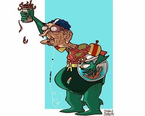 18-Aqua-Man-Arthur-Curry-Donald-Soffritti-Cartoon-Cartoonist-Superheroes-in-Old-Age-www-designstack-co
