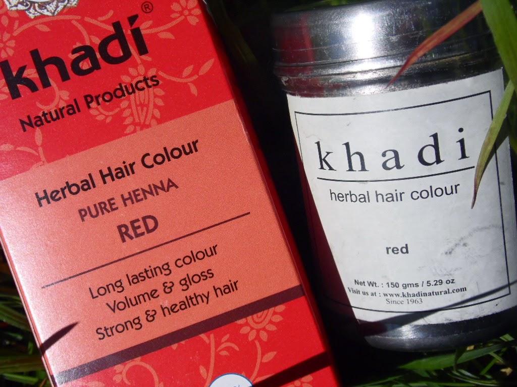 Henna Khadi® hennie Khadi nie równa | na przykładzie koloru red, który sama od dawna używam