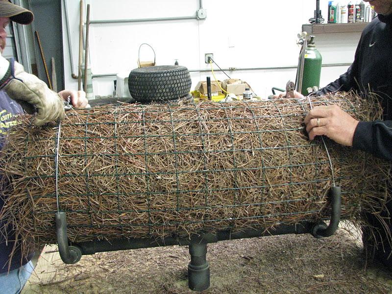 The Bear Trace at Harrison Bay Golf Course Maintenance  Building    mallard duck tubes photos   jpg