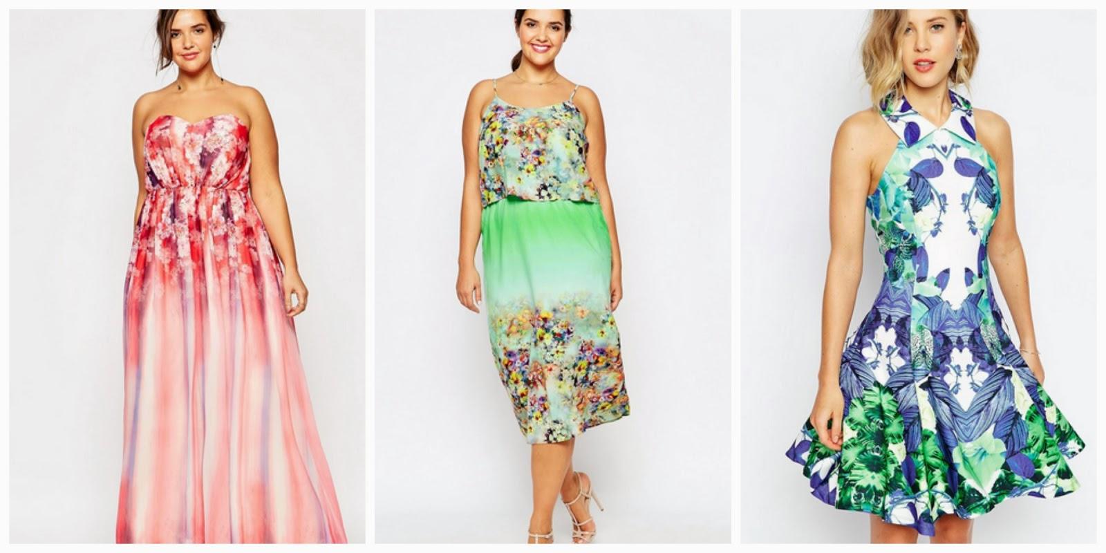 ASOS Floral Printed Dresses